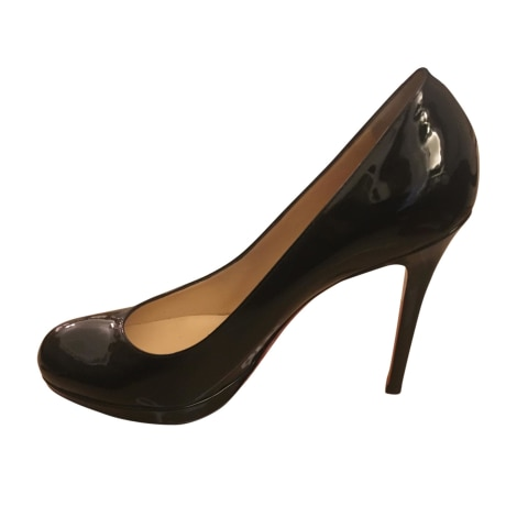 Escarpins compensés CHRISTIAN LOUBOUTIN Simple pump Noir