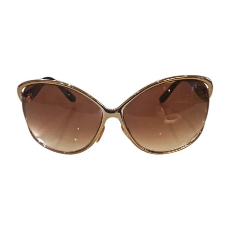 Sunglasses TOM FORD Golden, bronze, copper