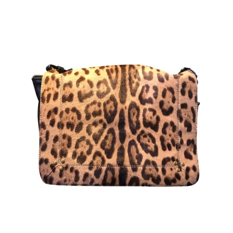Borsa a tracolla in pelle JEROME DREYFUSS Stampe animalier