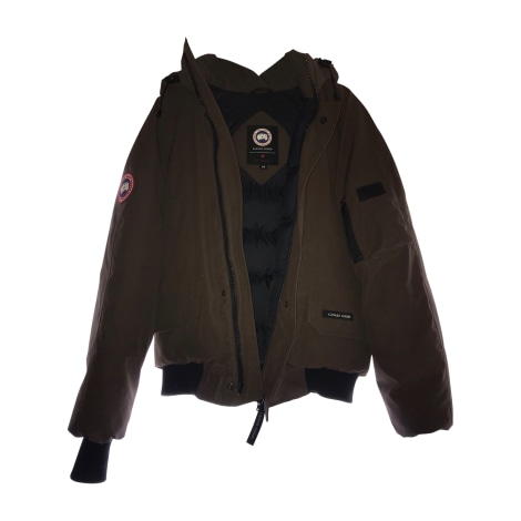 Down Jacket CANADA GOOSE Brown