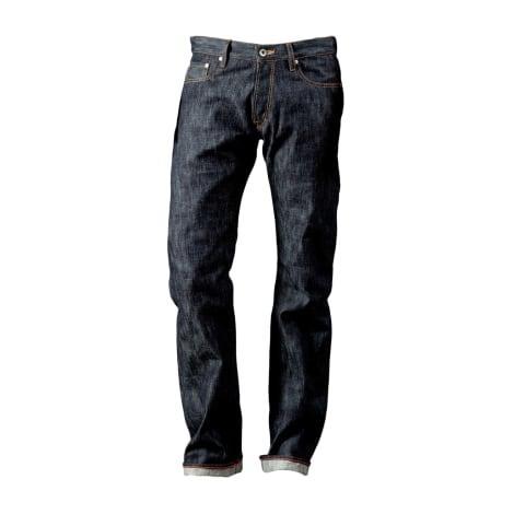 Straight Leg Jeans RENHSEN Blue, navy, turquoise