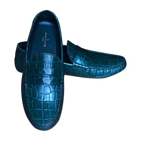 Loafers LOUIS VUITTON Green