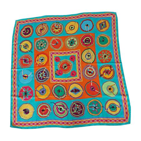 Silk Scarf HERMÈS Multicolor