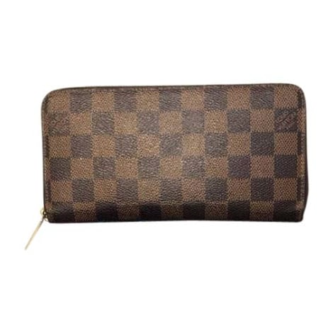 Portefeuille LOUIS VUITTON Zippy Marron