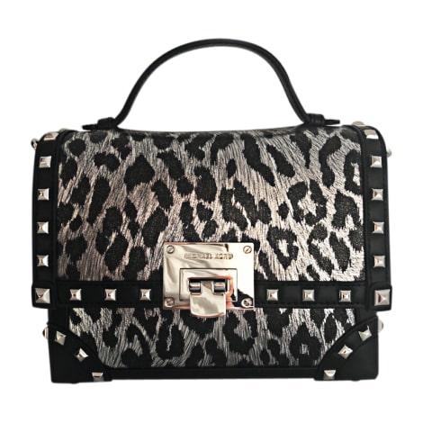 Leather Handbag MICHAEL KORS Silver