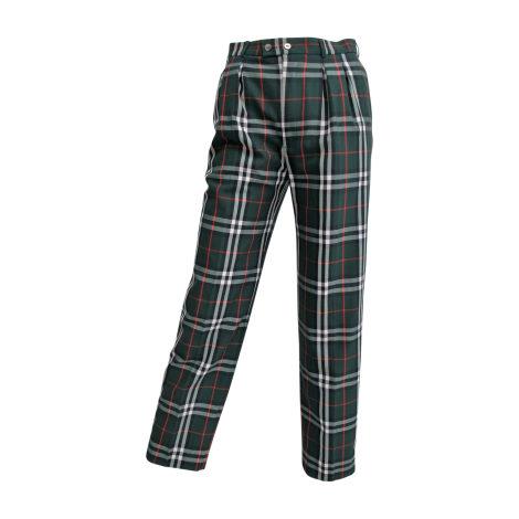 Pantalon droit BURBERRY Vert