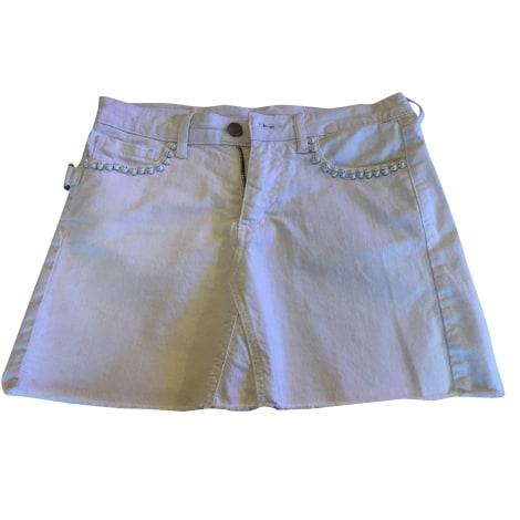 Jupe courte ZADIG & VOLTAIRE Blanc, blanc cassé, écru