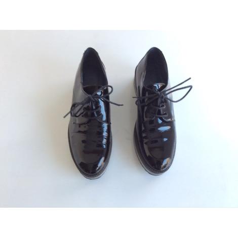 Perez Raquel Con Negro Zapatos Cordones Fr8w4qna 8483598 37 4RAq35jL