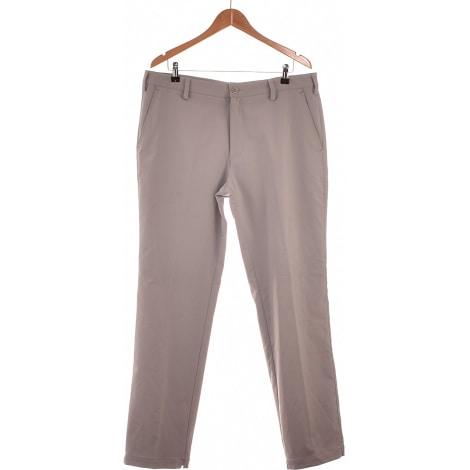 Straight Leg Pants ADIDAS Gray, charcoal