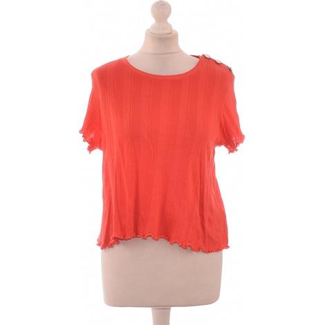 Top, T-shirt CLAUDIE PIERLOT Orange
