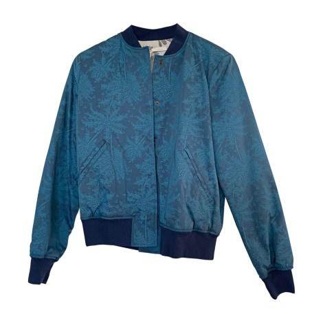 Blouson CHLOÉ Bleu, bleu marine, bleu turquoise