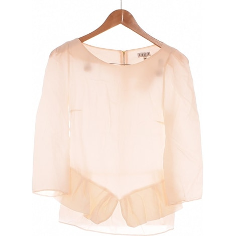 Top, tee-shirt CLAUDIE PIERLOT Beige, camel