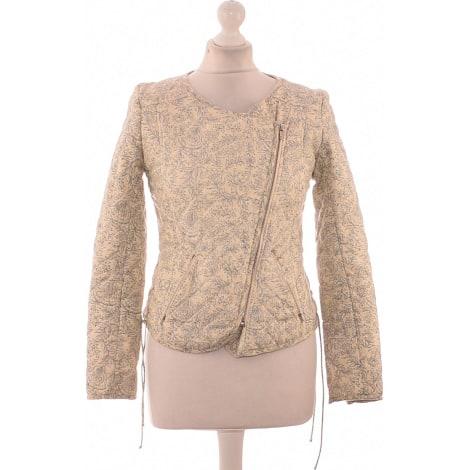 Vest, Cardigan BA&SH Beige, camel