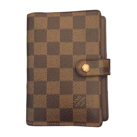 Card Case LOUIS VUITTON Beige, camel