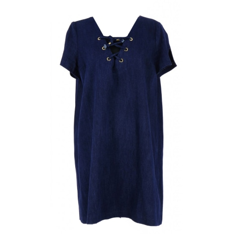Robe mi-longue BA&SH Bleu, bleu marine, bleu turquoise