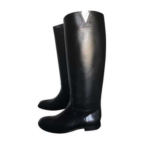 Riding Boots LOUIS VUITTON Black