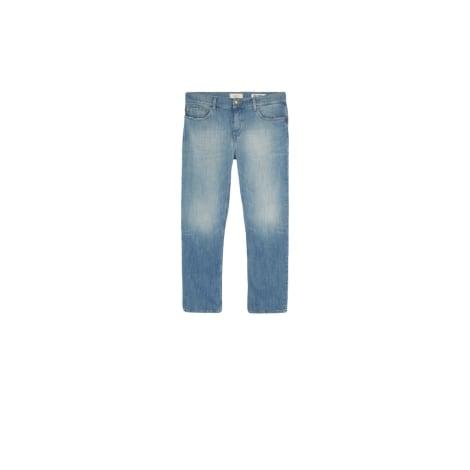 Pantalon slim, cigarette BA&SH Bleu, bleu marine, bleu turquoise