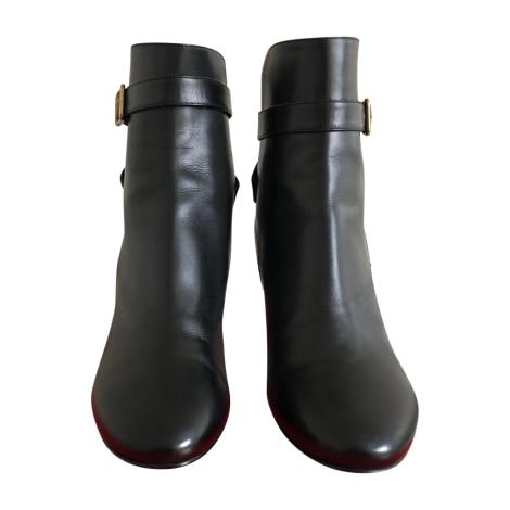 Bottines & low boots à talons MICHEL VIVIEN Noir