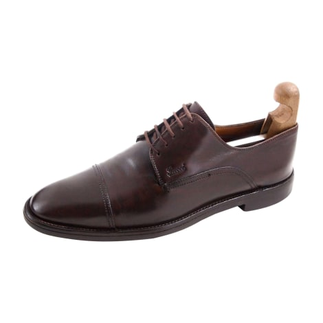 Lace Up Shoes GUCCI Brown