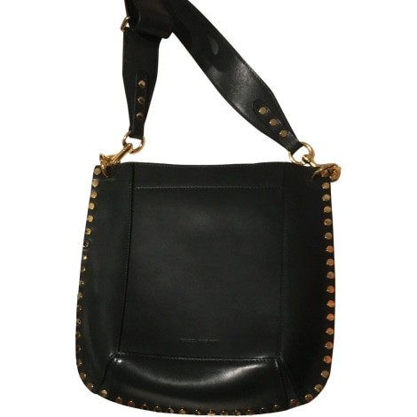 Leather Shoulder Bag ISABEL MARANT Green