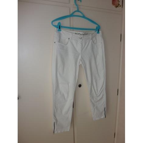 Jeans droit KOOKAI W32 (T 42) blanc - 8491632 d025415e4