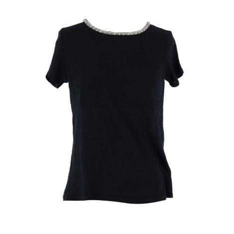 Top, T-shirt MAJE Black
