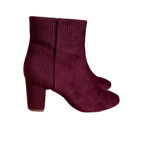 Bottines & low boots à talons SÉZANE Rose, fuschia, vieux rose