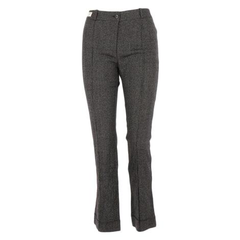 Pantalon droit CLAUDIE PIERLOT Gris, anthracite