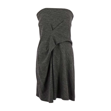 Robe mi-longue VANESSA BRUNO Gris, anthracite