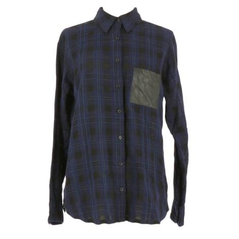 Shirt MAJE Blue, navy, turquoise