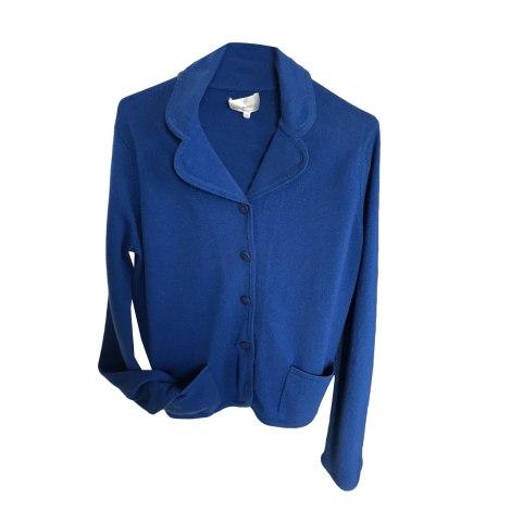 Vest, Cardigan ERIC BOMPARD Blue, navy, turquoise