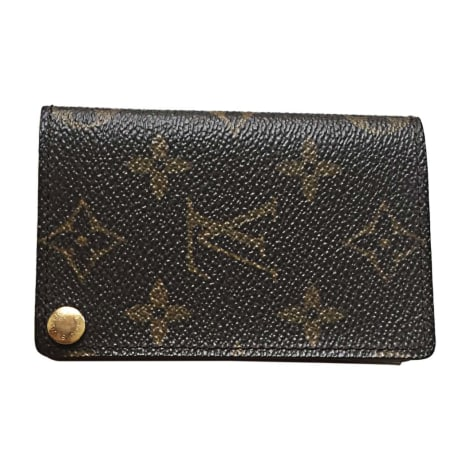 Card Case LOUIS VUITTON Brown