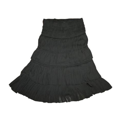Jupe mi-longue ISABEL MARANT Noir