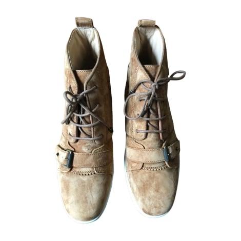 Sneakers CHRISTIAN LOUBOUTIN Beige, camel