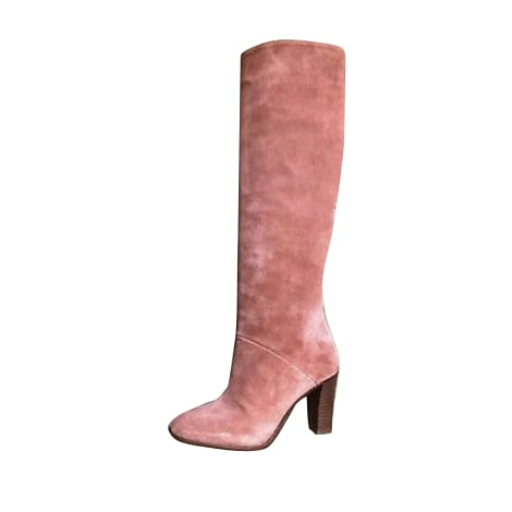 High Heel Boots SÉZANE Blush