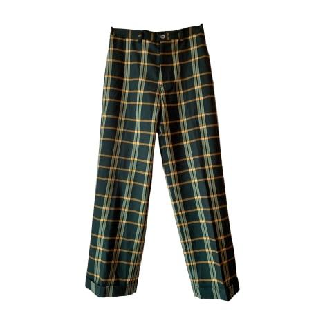 Pantalon droit YOHJI YAMAMOTO Multicouleur
