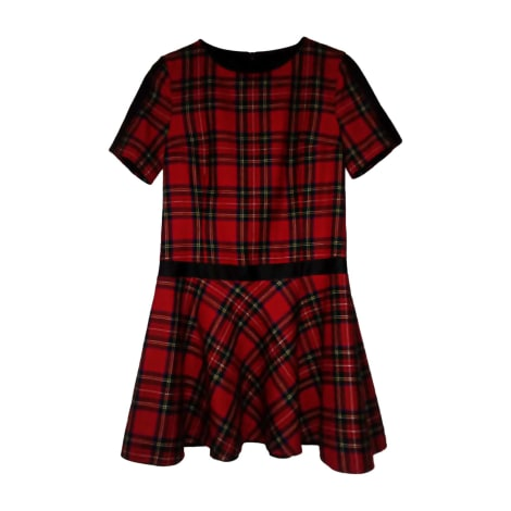 Mini Dress KARL LAGERFELD Red, burgundy