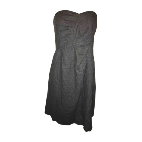 Mini Dress SEE BY CHLOE Gray, charcoal