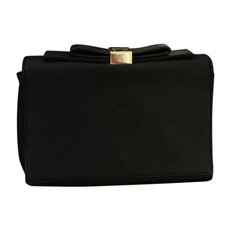Leather Clutch SEE BY CHLOE Black