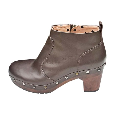 Wedge Ankle Boots PAUL SMITH Brown