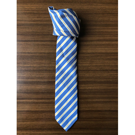 Tie BRAGARD Blue, navy, turquoise