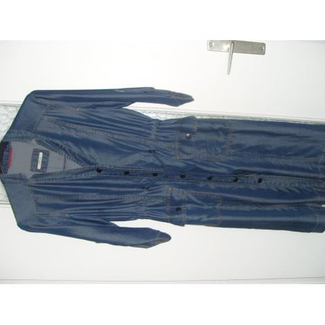 Robe en jeans DEVERNOIS Bleu, bleu marine, bleu turquoise