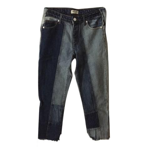 Jeans largo, boyfriend ZADIG & VOLTAIRE Blu, blu navy, turchese