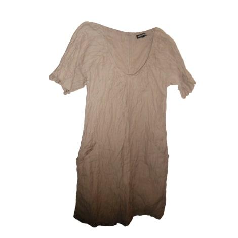 Mini Dress AMERICAN RETRO Beige, camel