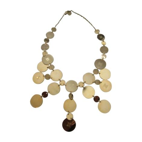 Necklace CÉLINE Golden, bronze, copper