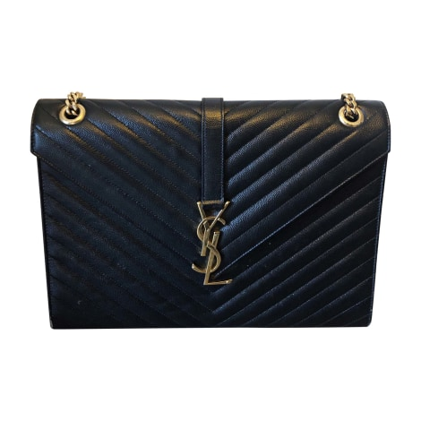 Leather Handbag SAINT LAURENT Black