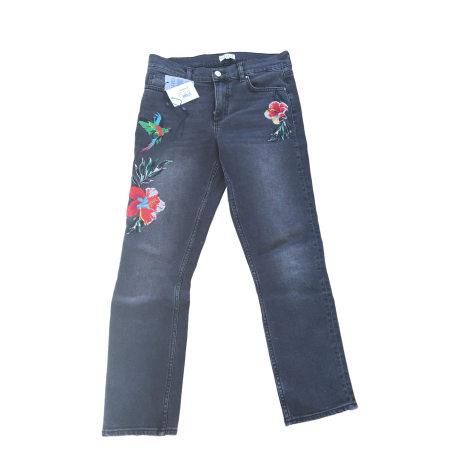 Jeans slim CLAUDIE PIERLOT Grigio, antracite