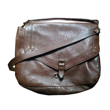 Borsa a tracolla in pelle JEROME DREYFUSS Marrone