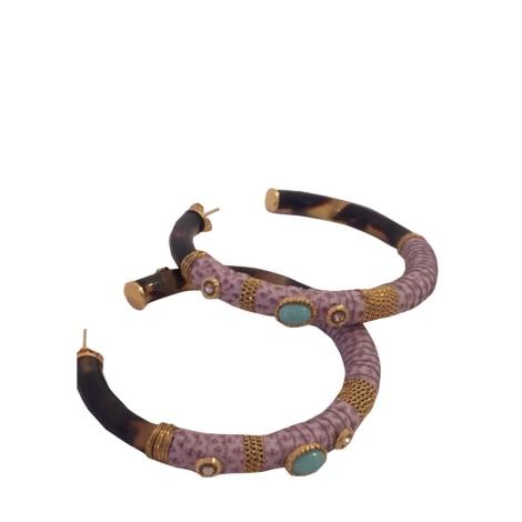 Boucles d'oreille GAS BIJOUX Doré, bronze, cuivre