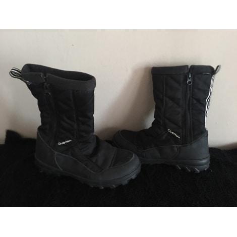 Snow Boots QUECHUA Black